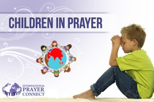 Childrens prayer in the boiler room